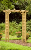 Sturdy, smoothly finished Garden Arch