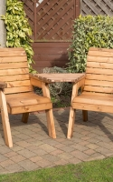 Twin Companion Set. All furniture is handcrafted in the United Kingdom, using quality timber from sustainable sources and is fully assembled. No tools required