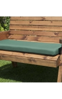 Waterproof Seat Cushions available in green or burgundy, Single, two and three seater sizes available